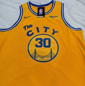 Steph Curry Golden State Warriors Jersey